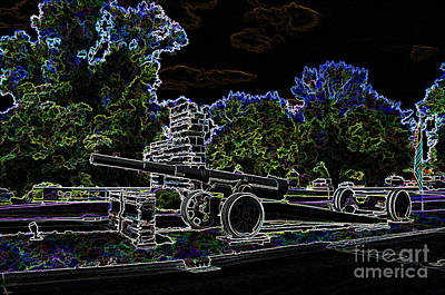 Photograph -  Contemporary  -  Illinois Veterans Home Entrance  -  Luther Fine Art by Luther Fine Art