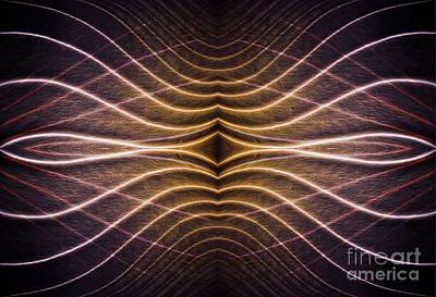 Digital Art -  Contours 7 by Wendy Wilton