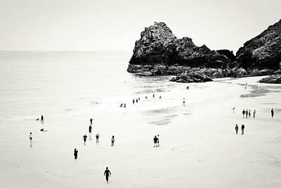 Kynance Cove Photograph -  Cornwall Beach Life by Dorit Fuhg