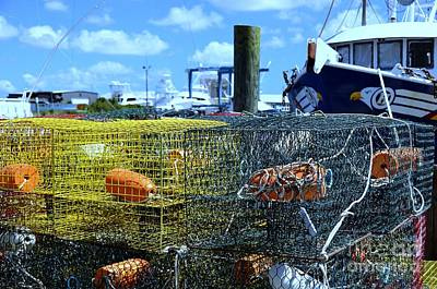 Photograph -  Crab Traps by Allen Beatty
