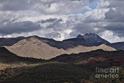 Photograph -  Dancing Cloud Shadows by Mistys DesertSerenity