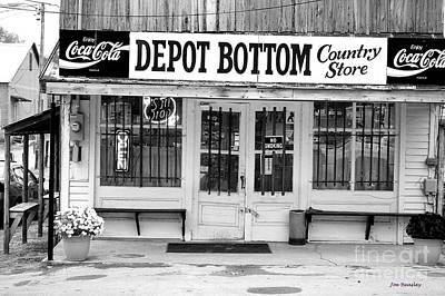 Depot Bottom Country Store Art Print by   Joe Beasley