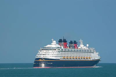 Photograph -  Disney Wonder by Bradford Martin
