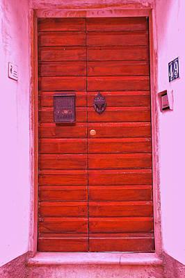 Photograph -  Door Number 49 by Allen Beatty