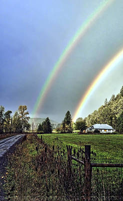 Photograph -  Double Bow  by Torrey E Smith