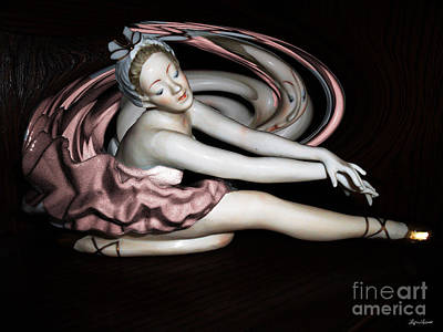 Photograph -  Dreaming Ballerina by Lyric Lucas