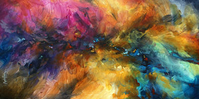 Directional Painting - ' Dreamscape' by Michael Lang