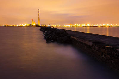 Photograph -  Dublin South Wall Breakwater by Semmick Photo