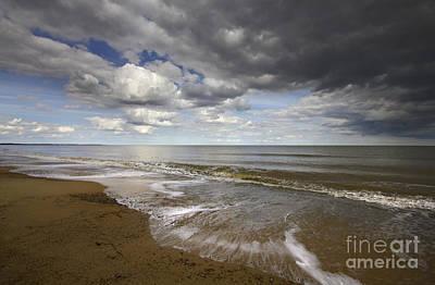 Coastguard Cottages Photograph -  Dunwich Beach Southwold Suffolk by Darren Burroughs