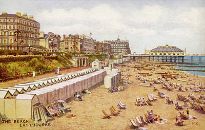 Eastbourne, Sussex A View Art Print by Mary Evans Picture Library