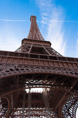 Photograph -  Eiffel Tower Paris by Iryna Soltyska