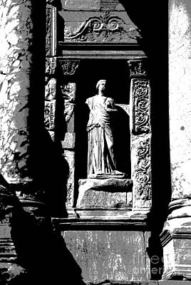 Photograph -  Ephesus - Helena by Jacqueline M Lewis