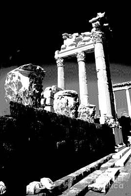 Photograph -  Ephesus Granduer by Jacqueline M Lewis