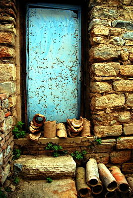 Photograph -  Ephesus Window by Jacqueline M Lewis