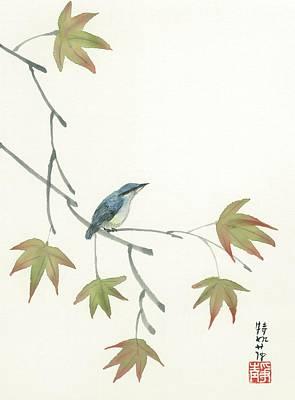 Eurasian Nutchatch Art Print