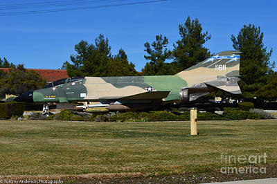 F-4c Photograph -  F-4c Phantom II Cang by Tommy Anderson