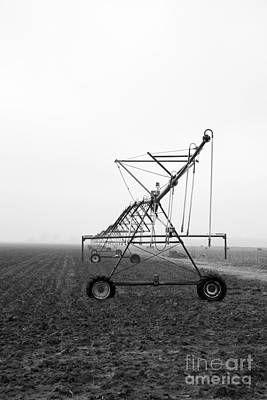 Farmground Springler System Art Print by Betty Morgan