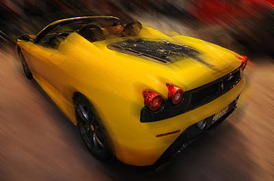 Photograph -     Ferrari Scuderia Spider 16m  by Dragan Kudjerski