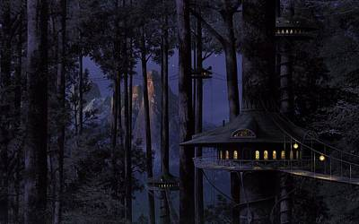 Forest Art Print by Raphael  Sanzio