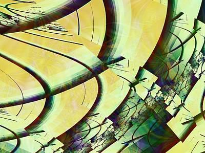 Olive Digital Art -  Fragmentation by Anastasiya Malakhova