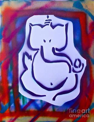 First Amendment Painting -  Fresh Ganesh 2 by Tony B Conscious