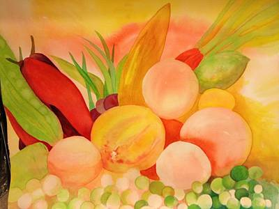 Painting -  Fruit Or Vegetable by Bobbin