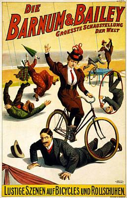 Barnum And Bailey Circus Poster Art Print