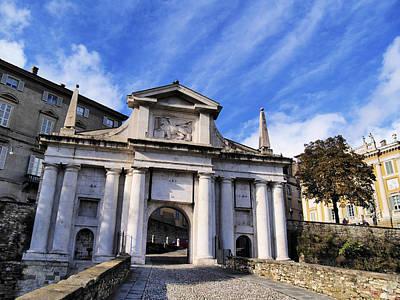 Gate In Bergamo Art Print by Karol Kozlowski