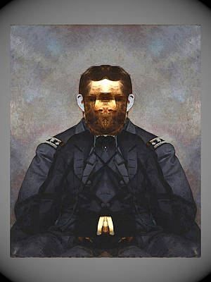 Digital Art -  Gen. Ulysses S. Grant by Zac AlleyWalker Lowing