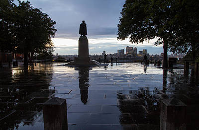 Photograph -  General Wolfe On Greenwich Hill by Wayne Molyneux