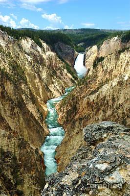 Grand Canyon Of Yellowstone National Park Art Print by Micah May