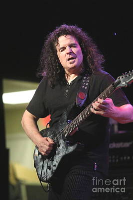 Photograph -  Guitarist Vinnie Moore by Concert Photos