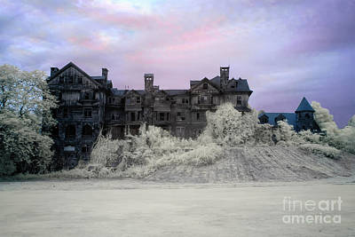 Photograph -  Halcyon Hall Infrared by Rick Kuperberg Sr