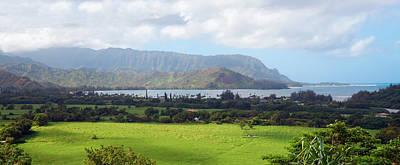 Photograph -  Hanalei Bay Kauai Hawaii by Marek Poplawski