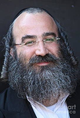 Torah Digital Art -  Happy Chanukahh - Portrait Of Chassid. Viewed 319 Times by  Andrzej Goszcz