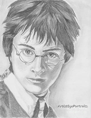 Harry Potter Art Print by Nathaniel Bostrom