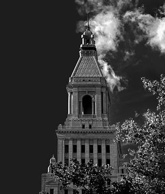 Photograph -  Hartford Connecticut Landmark Travelers Tower  by Phil Cardamone