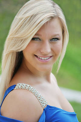 Over The Shoulder Photograph -  Head Shot by Chastity Hoff