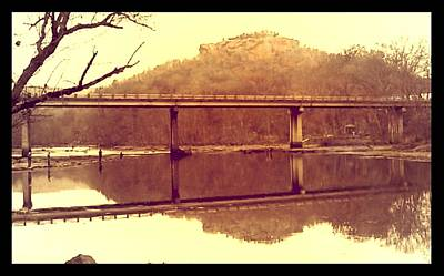Lamdscape Photograph - .  Highway 110 Bridge Near Heber Springs Arkansas by Brian Hubmann