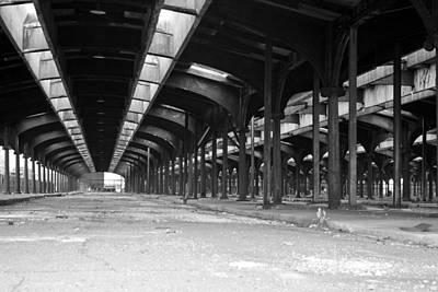 Photograph -  Historic Crrnj Terminal by Michael Dorn