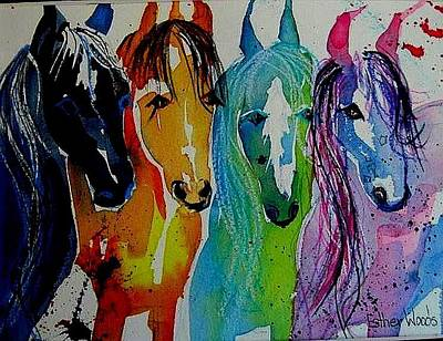 Horse Heaven Art Print