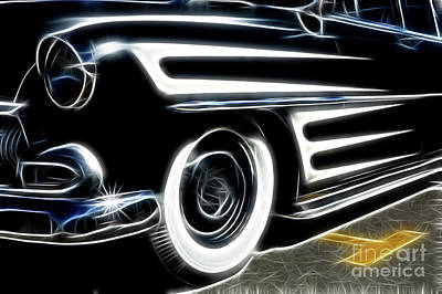 Stripe.paint Photograph -  Hot Rod Ready To Rumble by Bob Christopher