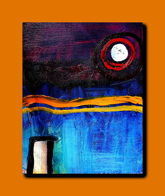 Painting -  House Of The Rising Sun by Sue McElligott