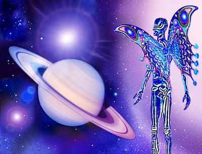 I  Dream  Of  Saturn Art Print