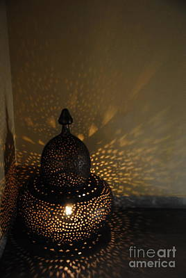 Photograph -  Indian Lantern by Jacqueline M Lewis