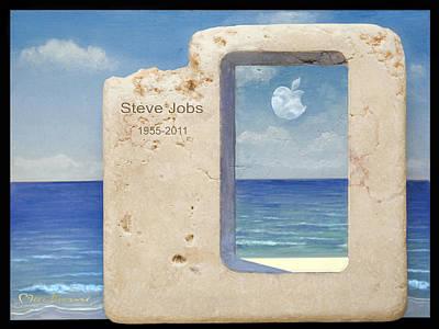 Painting - Iphone 7 Plus  Steve Jobs Spirit by Miki Karni