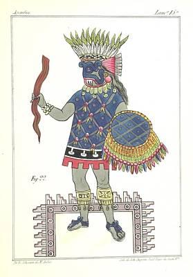 Historia Wall Art - Painting -  Islas De Tierra Firme by Celestial Images