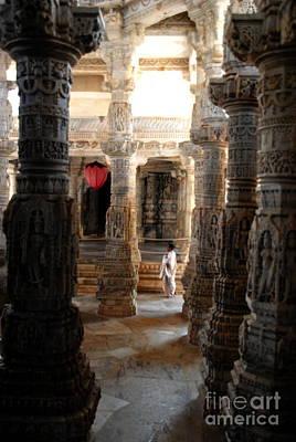 Photograph -  Jain Temple Meditation by Jacqueline M Lewis