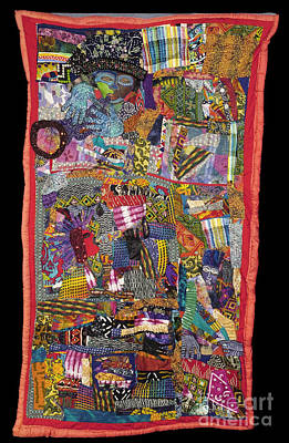 Tapestry - Textile -  Jazzy Nights by Gwendolyn Aqui-Brooks