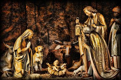 Jesus Had A Labrador Art Print by Lee Dos Santos
